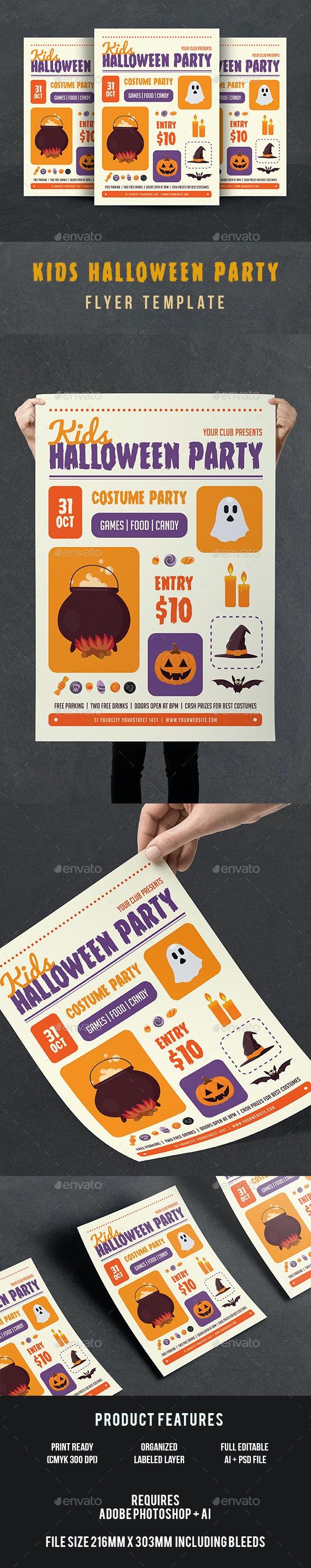 Halloween Kids Flyer - Events Flyers