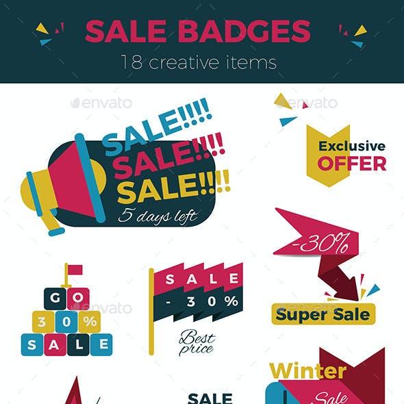 Creative Sale Badges