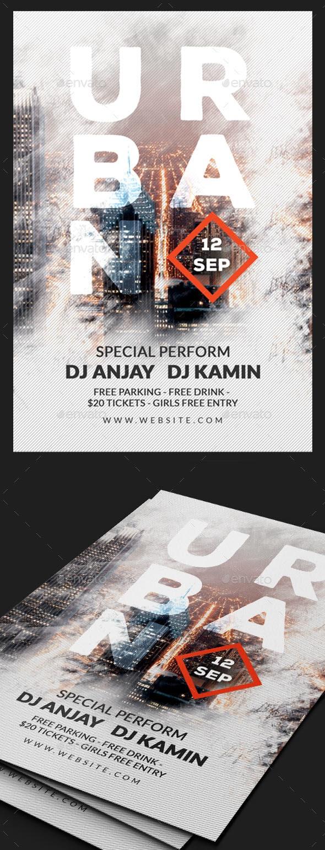 Urban Sound Flyer - Concerts Events