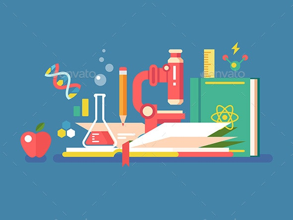 Science Tools for Education - Miscellaneous Vectors