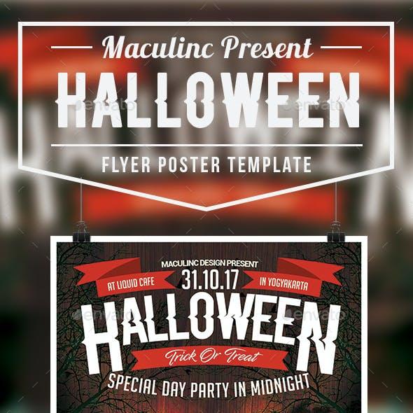 Halloween Flyer/Poster Vol.3