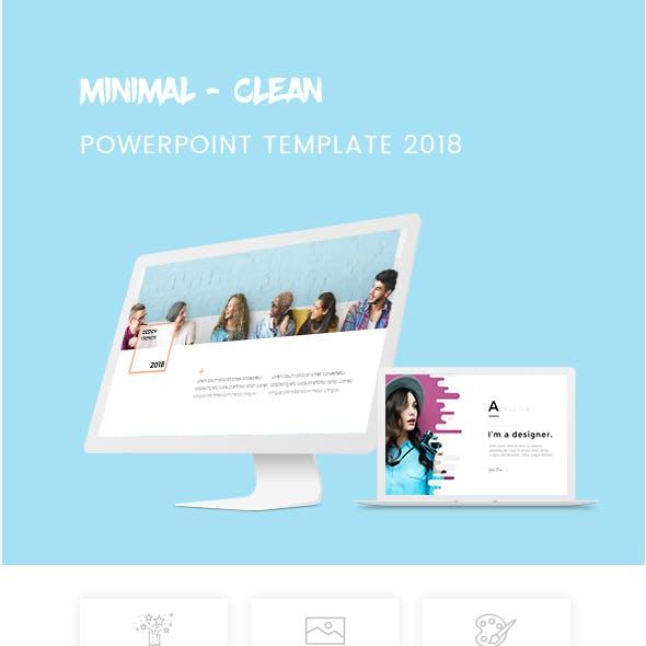 Bundle 2 in 1 Minimal Powerpoint Template