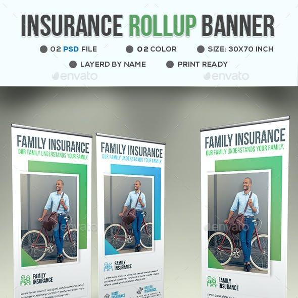 Insurance Roll-Up Banner