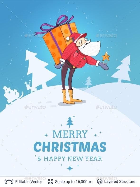Christmas Background Design - Christmas Seasons/Holidays