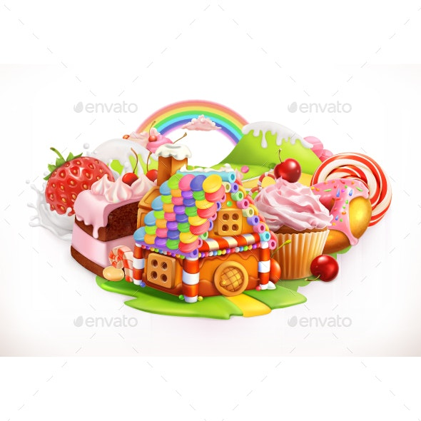 Confectionery and Desserts - Food Objects
