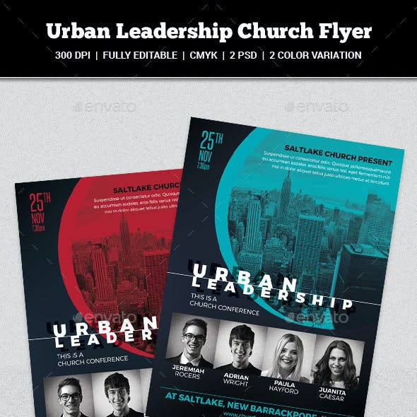 Urban Leadership Church Flyer