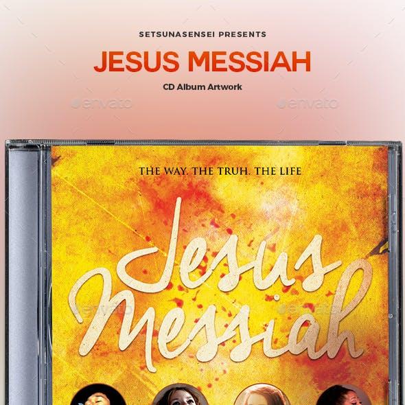 Jesus Messiah CD Album Artwork