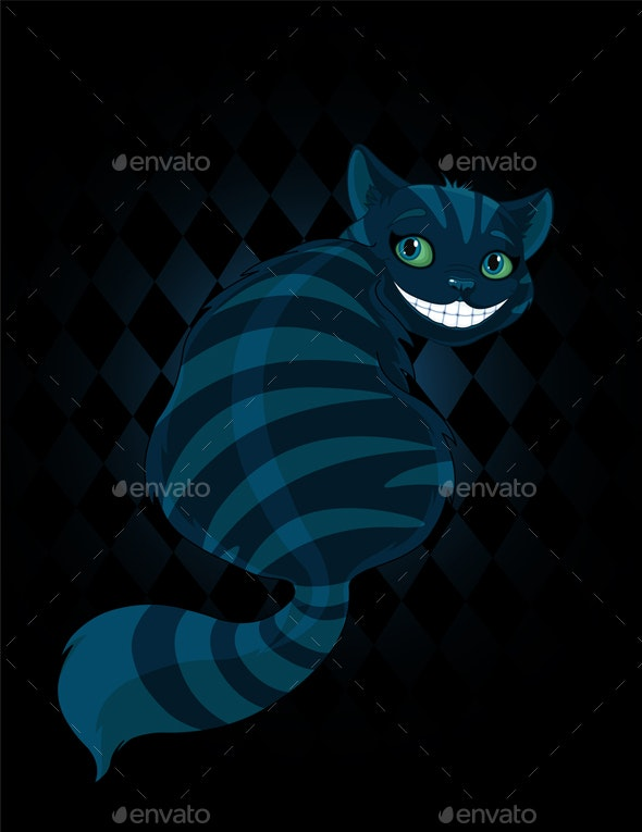 Cheshire Cat - Animals Characters