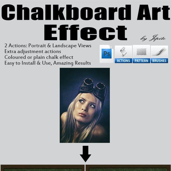 Chalkboard Art Effect