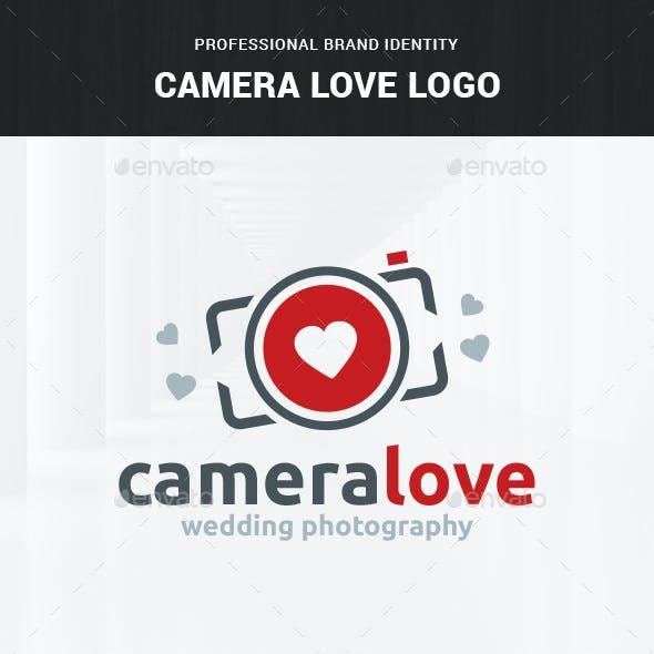 Camera Love - Photography Logo