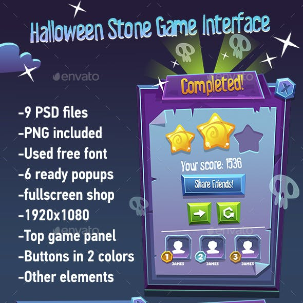 Halloween Story GUI Pack