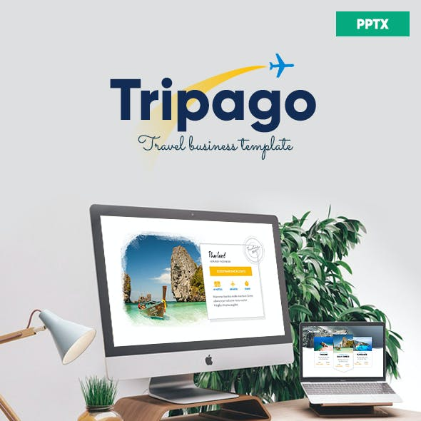 Tripago - Travelling Business Powerpoint Template