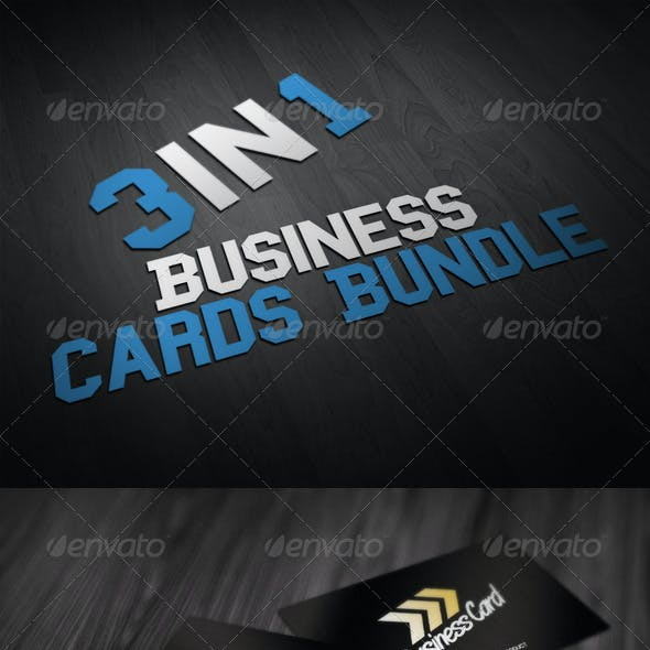 Business Cards Bundle 3in1