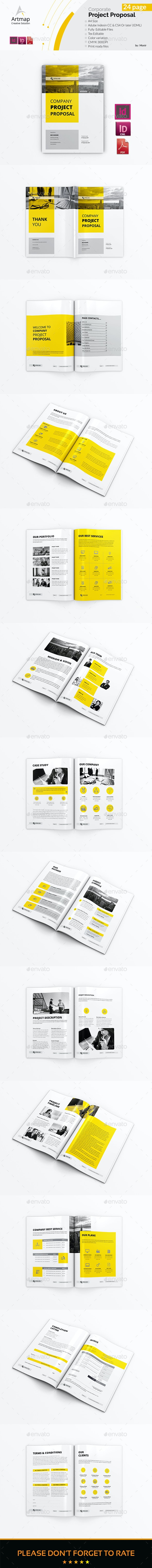 Proposal - Stationery Print Templates