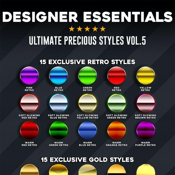 Designer Essentials Ultimate Precious Styles Vol.5