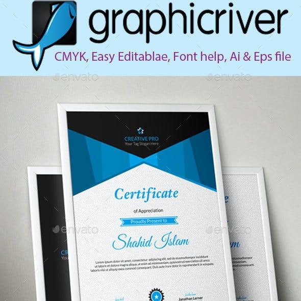 Creative Certificate 2