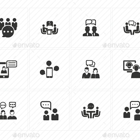 Discussion Icons - Gray Version