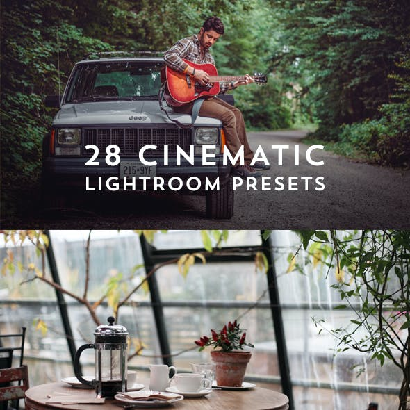 28 Cinematic Film Look Lightroom Presets