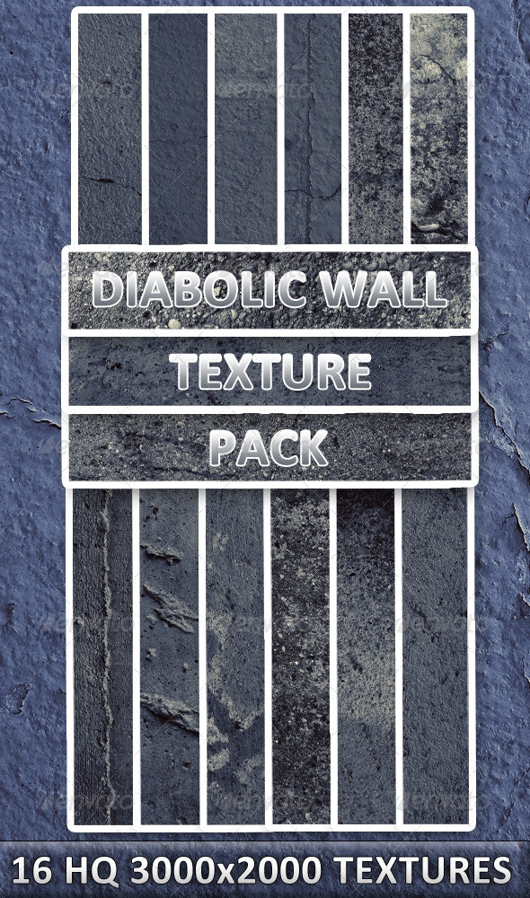Diabolic Wall Texture Pack - Stone Textures