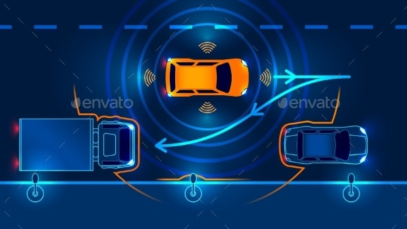 Smart Car Parking Assist System - Man-made Objects Objects