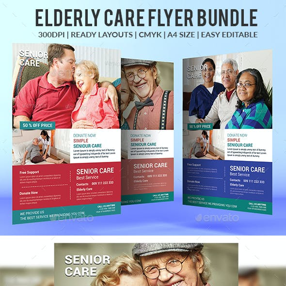 Elderly Care Flyers Bundle