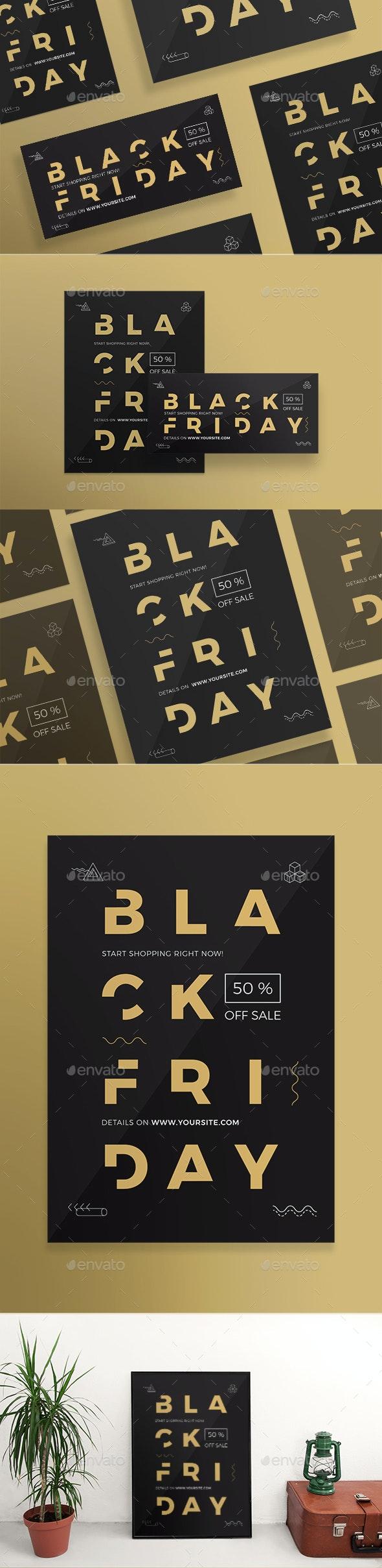 Black Friday Flyers - Holidays Events