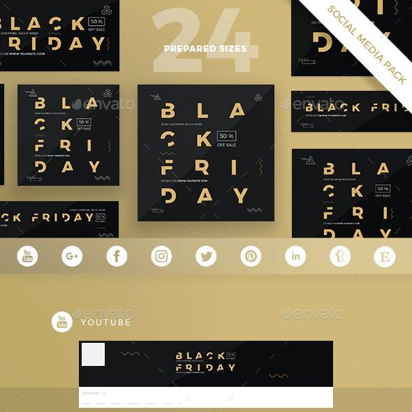 Black Friday Social Media Pack