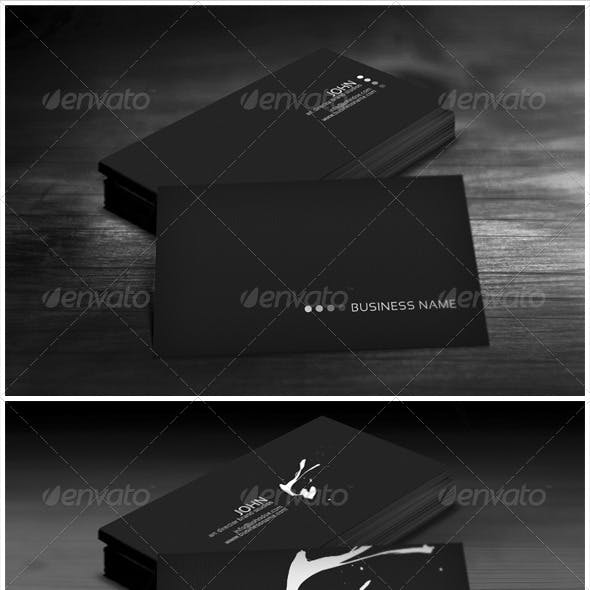 Black Bundle Business Cards