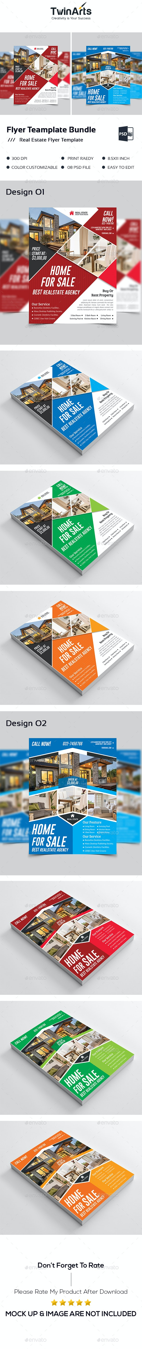 Flyer Template Bundle - Commerce Flyers