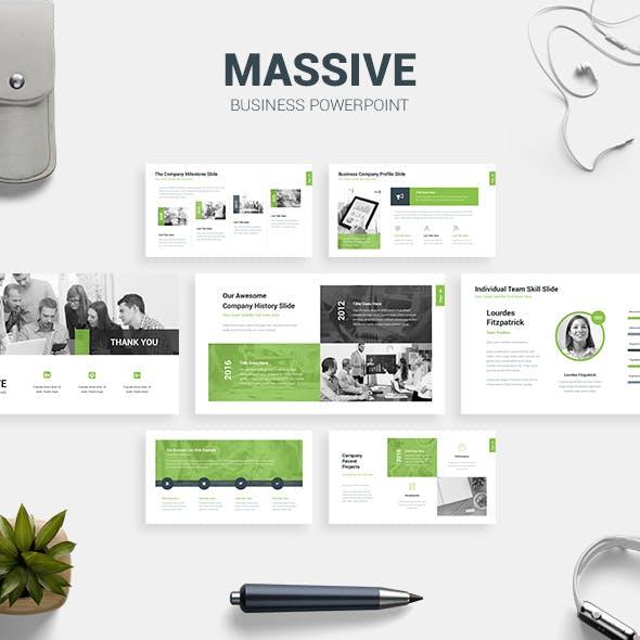 Massive - Business Presentation Template