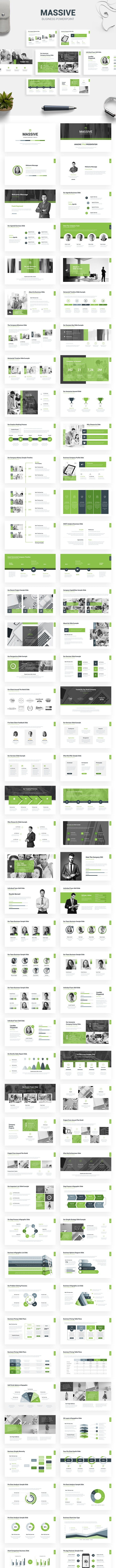 Massive - Business Presentation Template - Business PowerPoint Templates