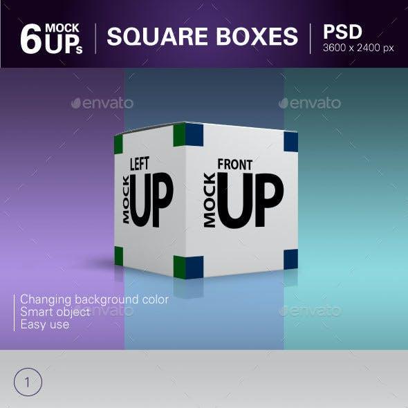 Square Boxes