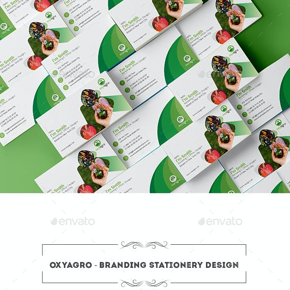 Oxyagro - Branding Stationary Design