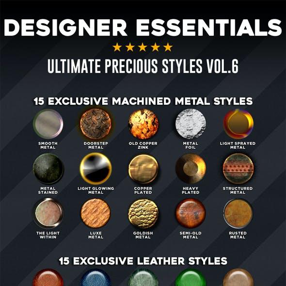 Designer Essentials Ultimate Precious Styles Vol.6