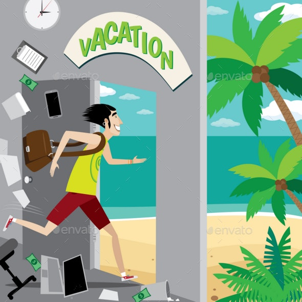 Vacation Is Waiting for You - People Characters