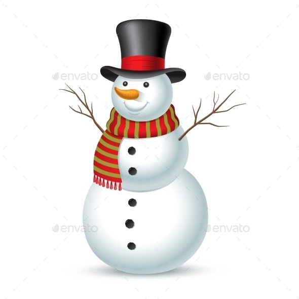 Christmas Snowman - Miscellaneous Characters