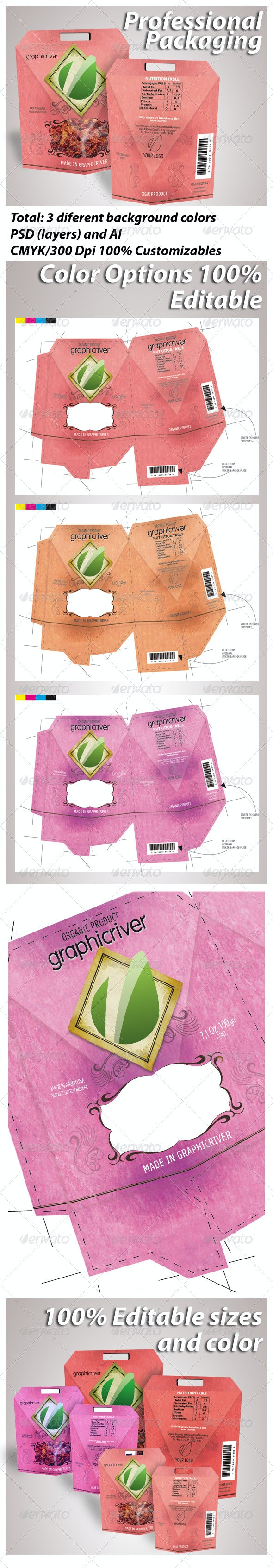Premium Packaging Products - Packaging Print Templates