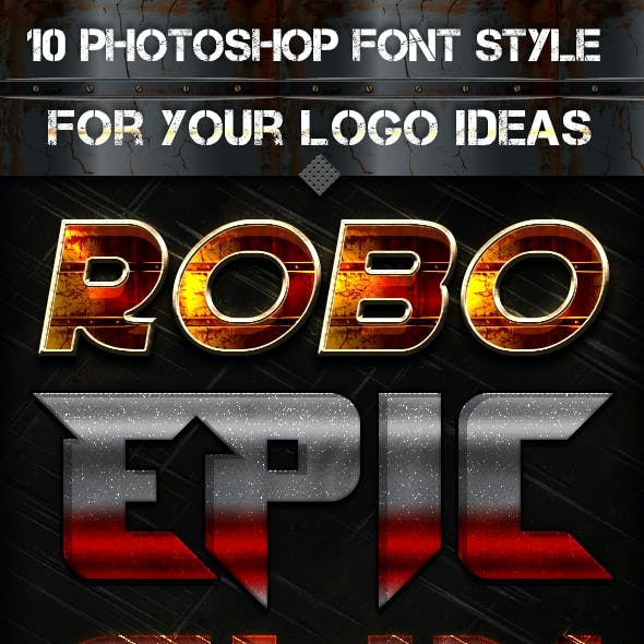 10 Font Style for Game Logo