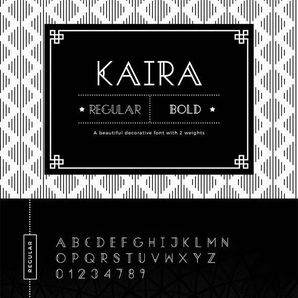 Kaira | Modern Sans Serif