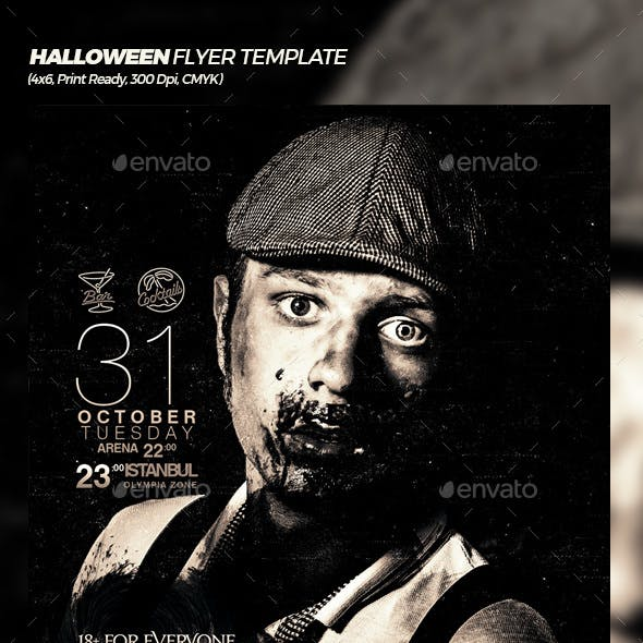 Halloween - Trick or Treat Flyer Template