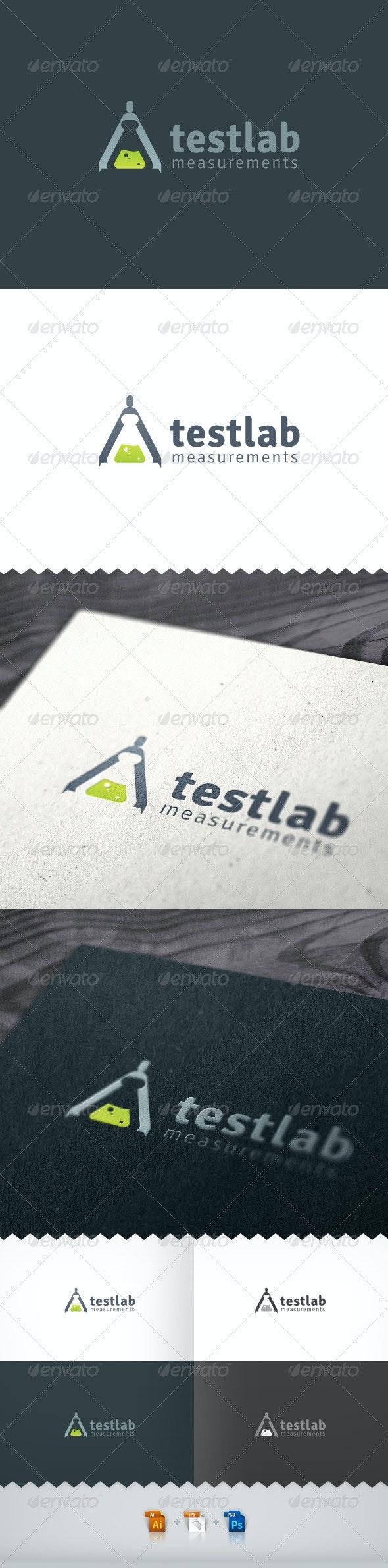 Test Lab Measurements Logo - Objects Logo Templates