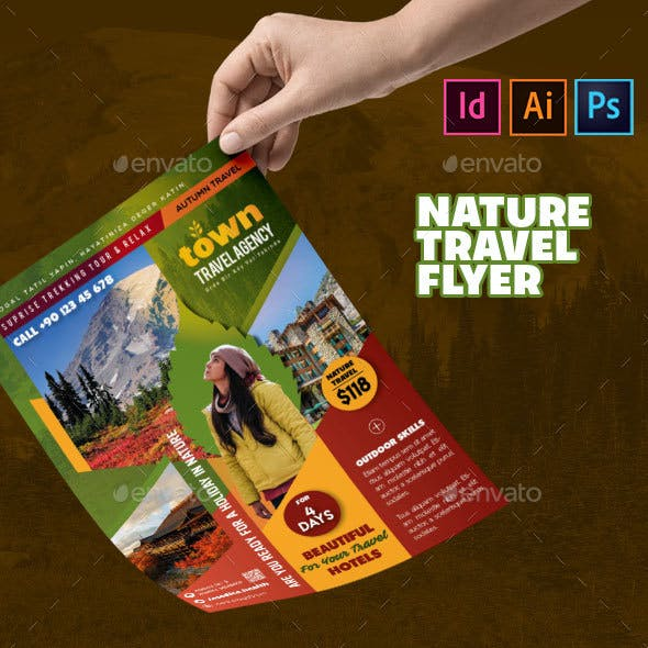 Nature Travel Flyer