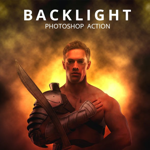 Back Light Photoshop Action