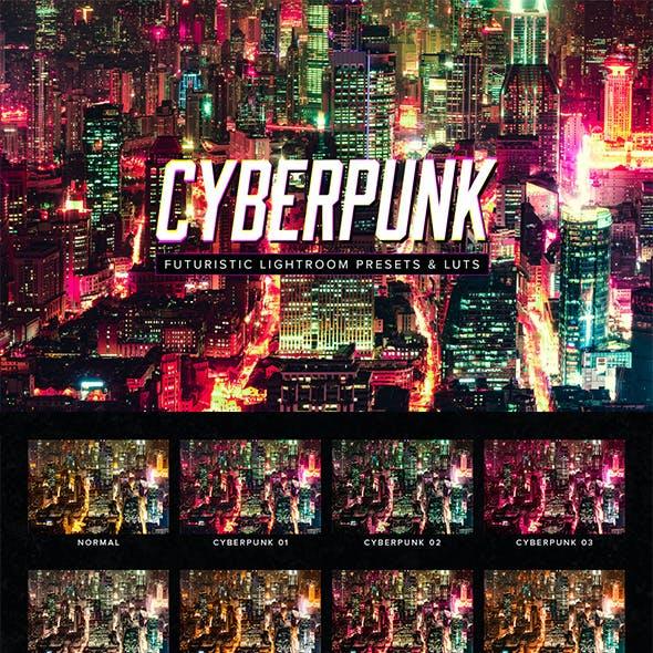 Cyberpunk Lightroom Presets & LUTs