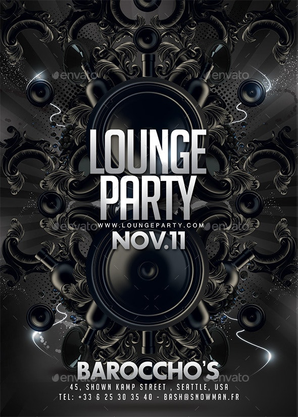 Lounge Barocco Party - Clubs & Parties Events