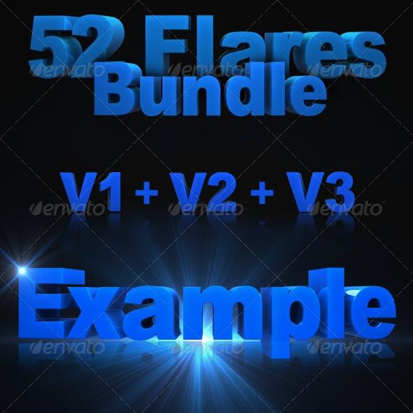 52 HD Optical/Lens Flares - Mega Bundle