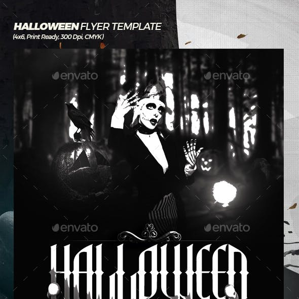 Halloween Week Flyer Template