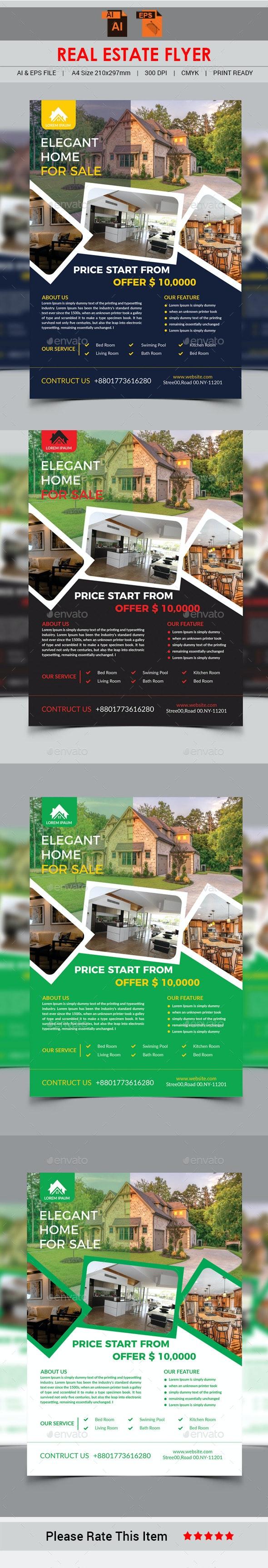 Real Estate Flyer - Print Templates