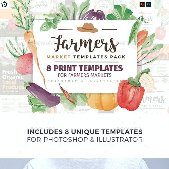 Farmers Market Templates Pack