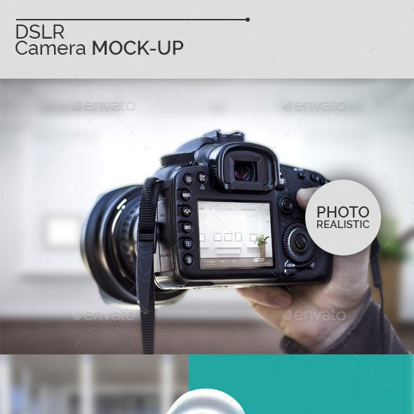 DSLR Camera Mock-Ups V2